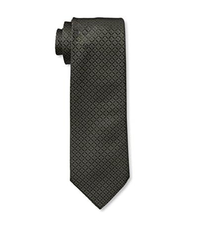 Valentino Men's Patterned Tie, Olive