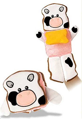 "Mary Meyer Plush ""Food For Thought"" Sandwich Puppet front-1005417"