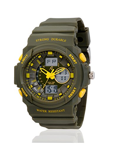 Yepme Men's Analog Digital Watch – Green