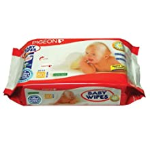 Pigeon 80 Sheets Of Baby Wipes Chamomile