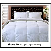 Royal Hotels Down Alternative Comforter Solid White