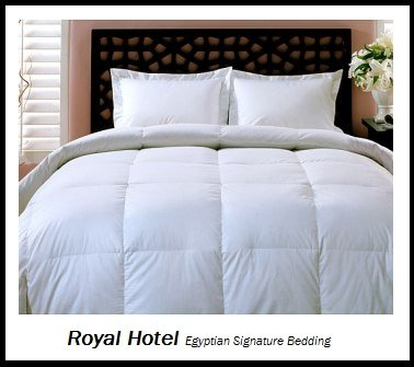 Royal Hotel's 1200-Thread-Count Queen Size Goose
