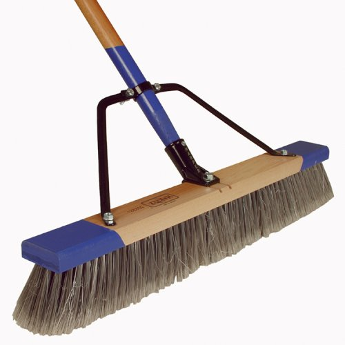 Harper Brush Works 24-Inch Heavy Duty Indoor Pushbroom 552224A