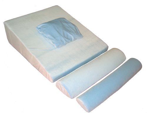 Memory Foam Bed Wedge with supports - Doctor Designed and Recommended - Comfort Guarantee 30