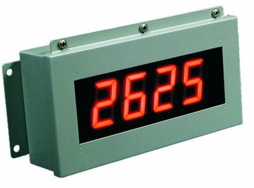 2.3 Inch 4 Digit, 100' View, Indoor Led Counter/Timer, Industrial Grade