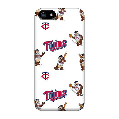 Fashion Tpu Case For Iphone 5/5S- Minnesota Twins Defender Case Cover