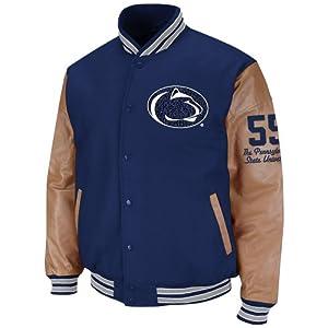 Penn State Nittany Lions Mens Varsity Letterman Jacket by Colosseum