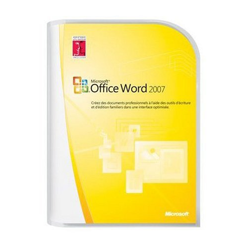 Microsoft Word Home and Student 2007  French (vf)