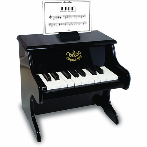Vilac Black Piano with Scores - 1