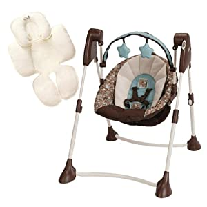 Amazon.com : Graco Swing By Me Portable Swing with Infant ...
