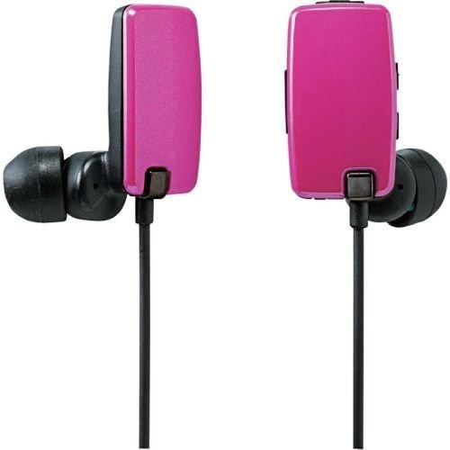 Logitec Bluetooth 2.1+EDR対応 ステレオイヤホン[USB充電ケーブル付] カナルタイプ 05シリーズ ピンク LBT-AVHP05PN