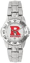Rutgers Scarlet Knights Ladies Sports Steel Watch