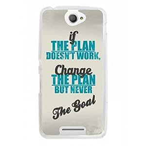 a AND b Designer Printed Mobile Back Cover / Back Case For Sony Xperia E4 (SON_E4_731)