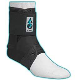 ASO Ankle Stabilizer, Black, XX-Small