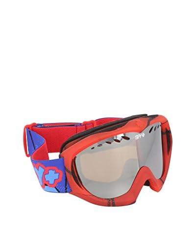Spy Máscara de esquí TARGA MINI POW POW  SIVER MIRR. Rojo