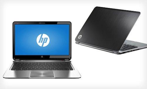 "Hp- Envy Ultrabook 14"" Laptop - 4Gb Memory - 500 Gb Hard Drive - Midnight Black/Natural Silvermodel# 4-1015Dx"