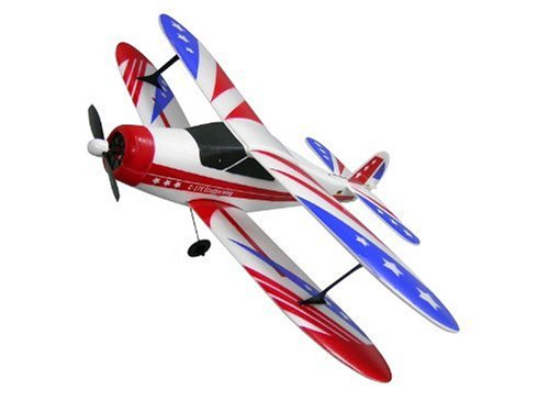 Jamara-005224-C-17E-Staggerwing-Mini-mit-Sternendekor