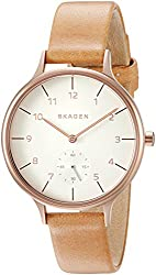 Skagen Anita Analog White Dial Womens Watch - SKW2405