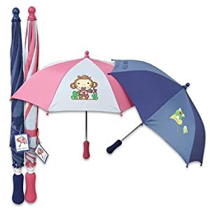 Umbrella With Soft Grip 225 2 Assorted - Case Pack 24 Sku-pas918445 by DDI