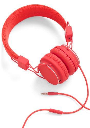 Urbanears Urban Thoroughly Modern Musician Headphones In Tomato