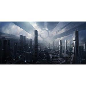 Mass Effect (48inch x 24inch / 120cm x 60cm) Silk Print Poster - Seide Plakat - 80FF05