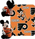 NHL Philadelphia Flyers Ice Warriors 40x50-Inch Throw with 14-Inch Hugger