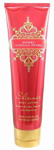 Victoria's Secret Garden Merry Vanilla Twirl Shimmer Body Lotion 5 fl oz (150 ml)