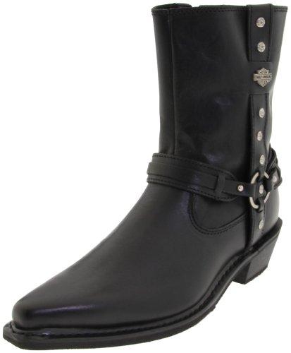 Harley-Davidson Women's Rochelle Motorcyle Boot,Black,6.5 M US