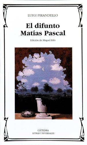 El Difunto Matías Pascal descarga pdf epub mobi fb2