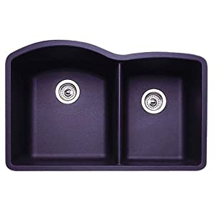 Blanco 440179 Diamond 1-3/4 Bowl Kitchen Sink, Anthracite Finish