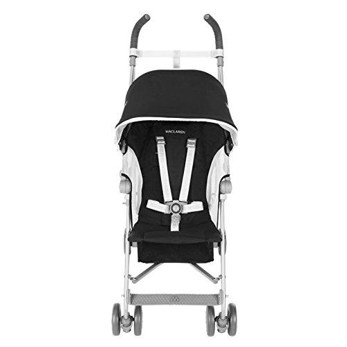 Maclaren globetrotter stroller black white baby shop - Silla maclaren amazon ...