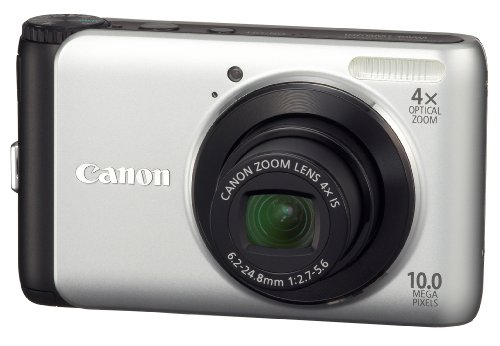 Canon PowerShot A3000IS 10 MP Digital Camera with 4x Optical Image Stabilized Zoom and 2.7Inch LCD