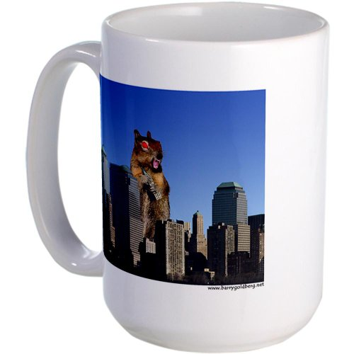 Cafepress Killer Squirrel Large Mug Large Mug - Standard