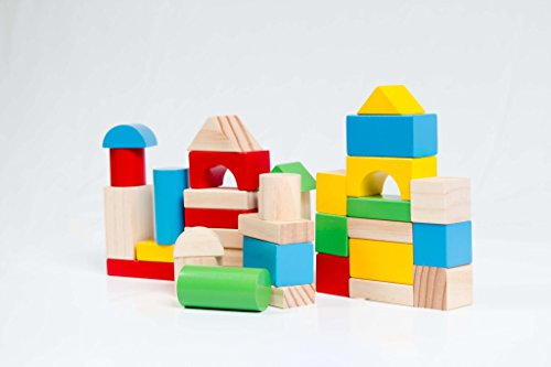 My First Deluxe Wooden Blocks Set - 1