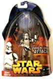 Star Wars Revenge of the Sith ROTS Episode 3 figures #1-20Clone Trooper white Quick Draw Attack #6