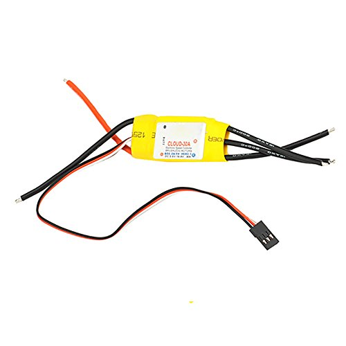 Neewer® 30A 2-3Lipo/4-10NiMh RPM: 20,000 Brushless Speed Controller ESC RC Helicopter - 1