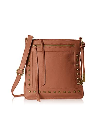Lucky Brand Women's Studded North/South Cross-Body, Maple