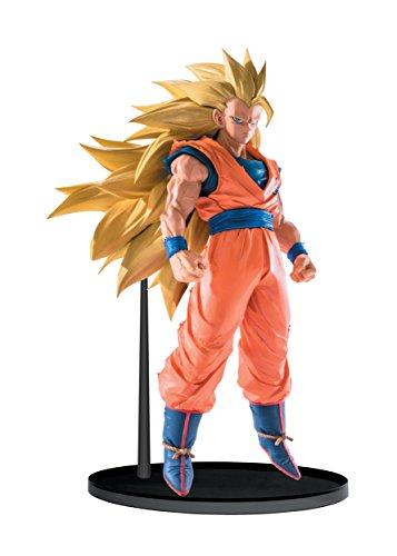Banpresto Dragon Ball Super Saiyan 3 Goku Sculptures Big Budoukai 6 Volume 5 Figure, 6.3