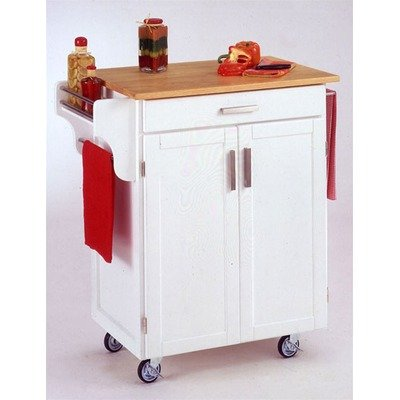 Cheap Kitchen Cart with Wood Top (9001-0021)