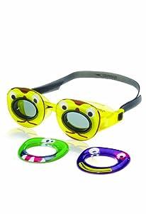Speedo Kids' Neonwonders Swim Goggle, Yellow