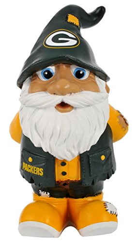 Green Bay Packers Stumpy Style Garden Gnome
