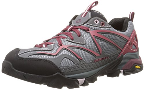 Merrell Women's Capra Sport Hiking Shoe, Turbulence, 9 M US