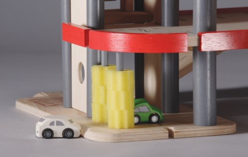 Plan Toys City Series Parking Garage Toy Garages Reviews