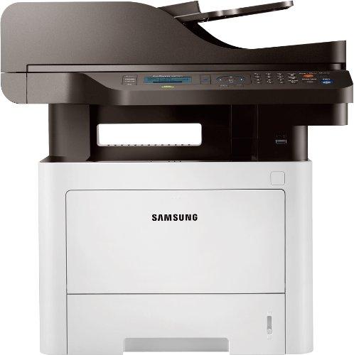 Samsung Xpress M3375FD/SEE Monolaser-Multifunktionsgerät (Drucken, Scannen, Kopieren, Faxen, 1.200 x 1.200 dpi, 256 MB Speicher, 600 MHz Prozessor)
