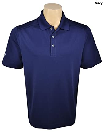 Callaway Golf Chev Solid Short Sleeve Polo Shirt Top Peacoat 3XL