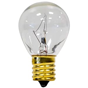 Globe Electric 03728 25 Watt S11 High Intensity Long Life Incandescent Intermediate Base Light
