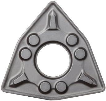 "Sandvik Coromant WNMG 434-KM 3210 GC3210 Grade, MTCVD Coated, 80 Degree Trigon Shape, KM Chip Breaker, 434 Insert Size, 0.1875"" Thickness, 0.063"" Nose Radius Carbide Turning Insert (Pack Of 10)"