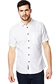 North Coast Pure Cotton Short Sleeve Waffle Shirt
