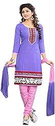 MINU Women's Unstitched Dress Material (Smart Style_1006)