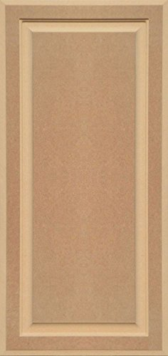 Unfinished MDF Cabinet Door, Square with Raised Panel by Kendor, 36H x 17W